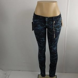 Cult of Individuality Reversible Blue Camo Jeans